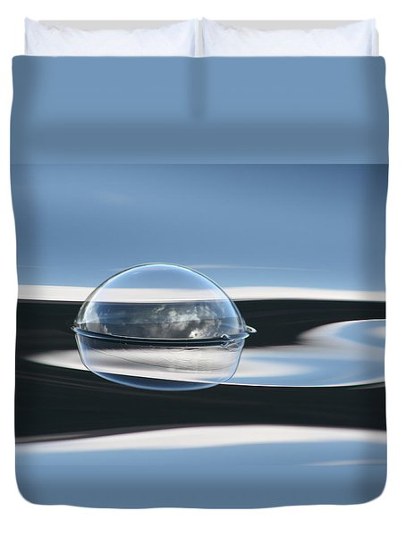 New Planet Duvet Cover by Cathie Douglas
