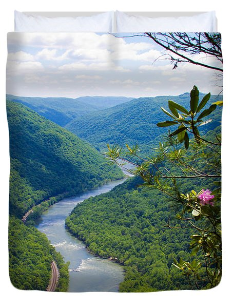 New River View Duvet Cover