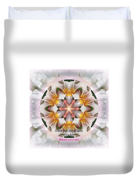 The Heart Knows Custom Duvet Cover