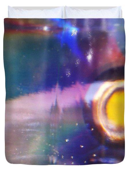 New World Duvet Cover by Martin Howard