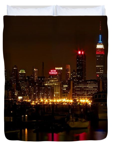 New York City Duvet Cover by Dave Files