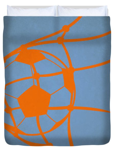 New York City Fc Goal Duvet Cover
