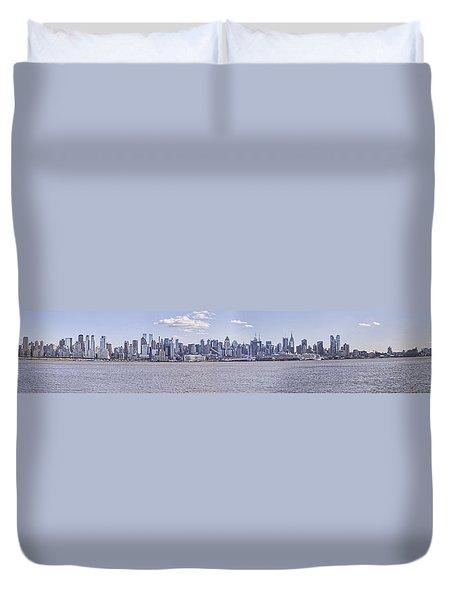 New York City Duvet Cover by Theodore Jones