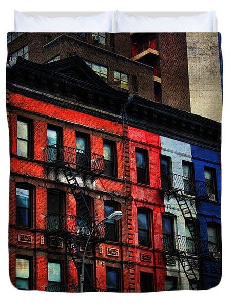New York City West Side Duvet Cover