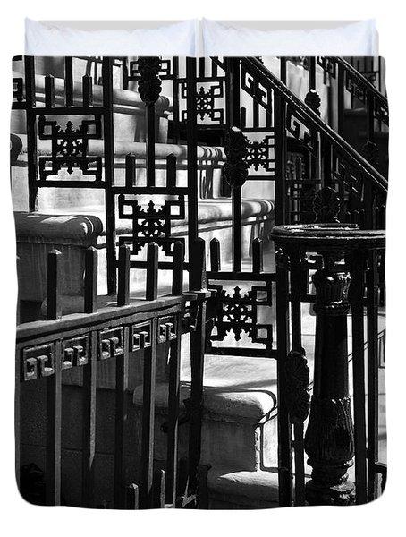 New York City Wrought Iron Duvet Cover