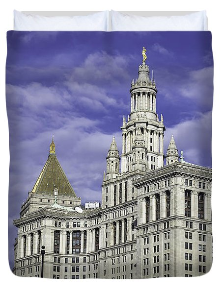 New York Municipal Building Duvet Cover