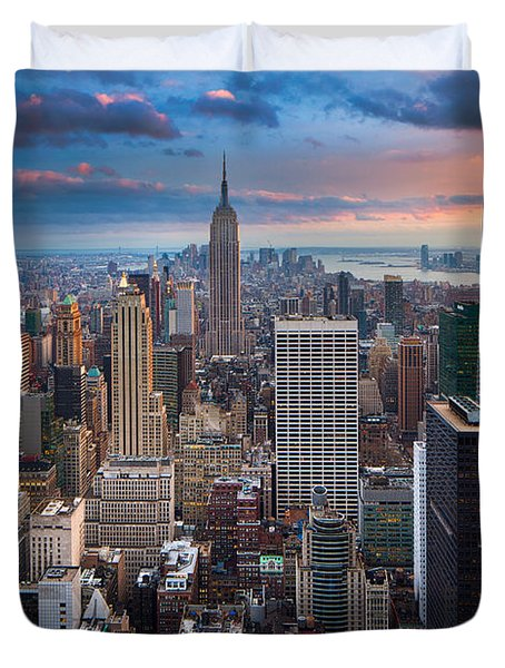 New York New York Duvet Cover