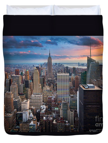 New York New York Duvet Cover by Inge Johnsson