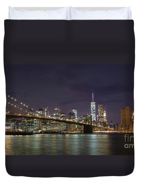 New York Nights Duvet Cover