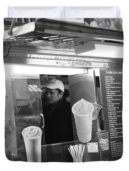 New York Street Photography 11 Duvet Cover