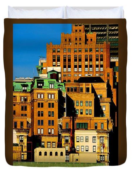 New York Morning Duvet Cover