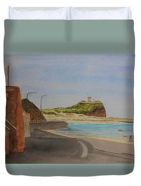 Newcastle Nsw Australia Duvet Cover