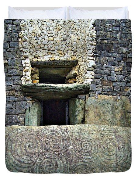 Newgrange Entrance Duvet Cover