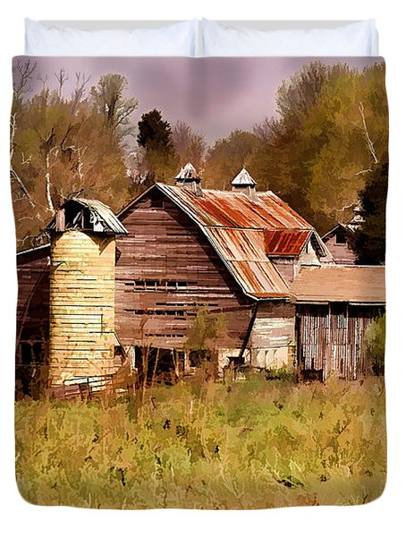 Newton Township Barn Duvet Cover