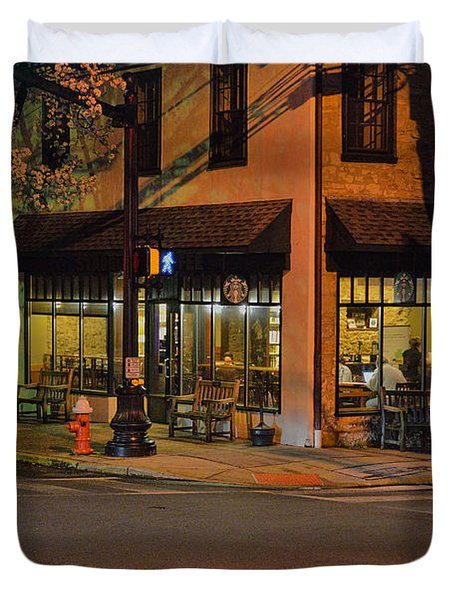 Newtown Nighthawks Duvet Cover