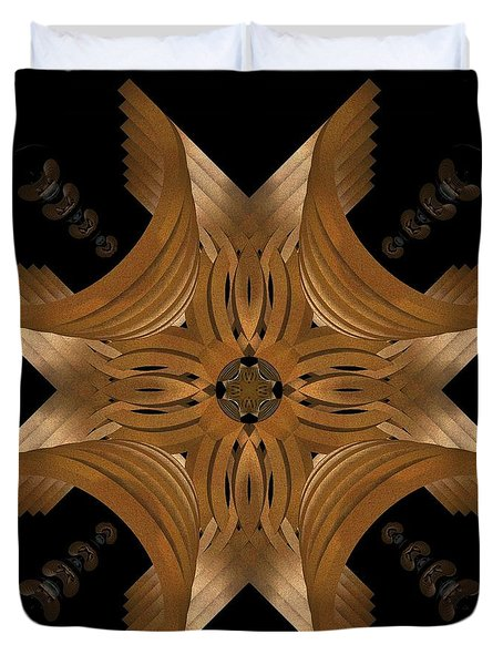 Nexus Duvet Cover by David Voutsinas