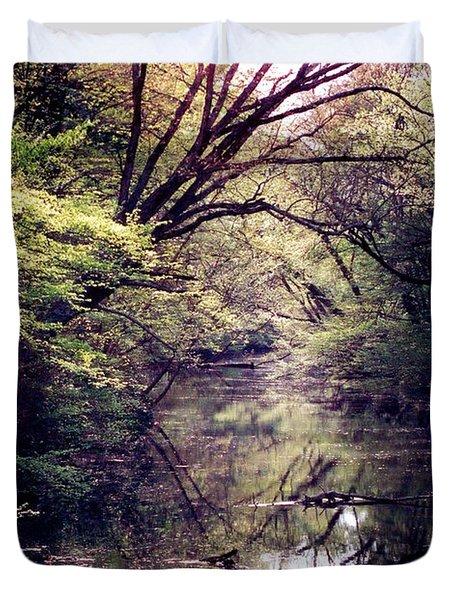 Ni River Duvet Cover by Anita Lewis