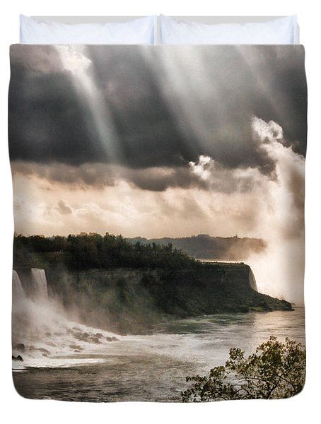 Niagra Falls Duvet Cover