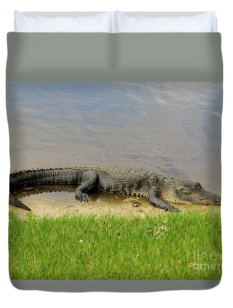 Nice And Quiet Duvet Cover