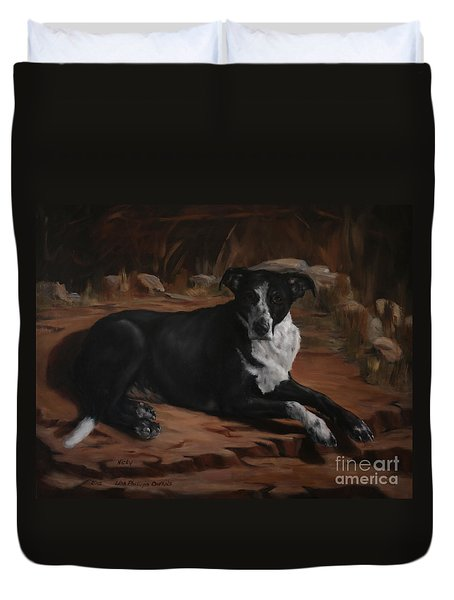 Nicky Duvet Cover by Lisa Phillips Owens