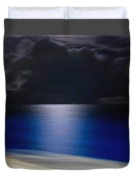 Night And Water Duvet Cover