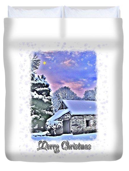 Christmas Card 27 Duvet Cover