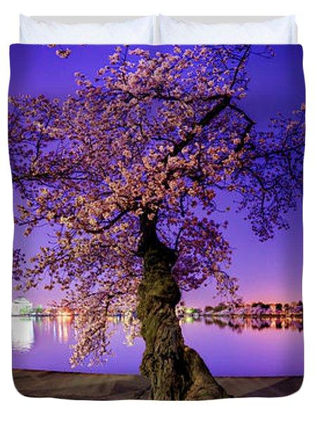 Night Blossoms 2014 Duvet Cover