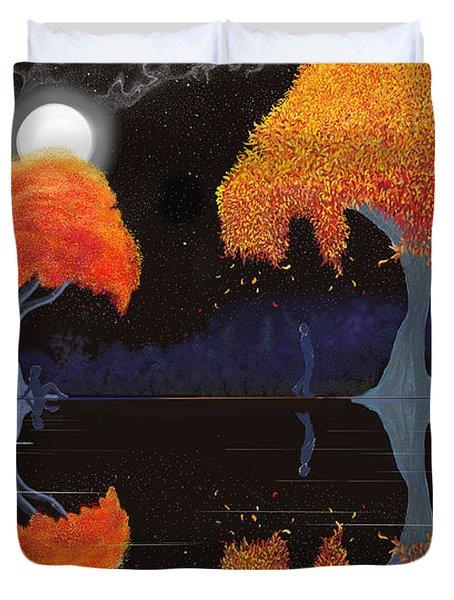 Night Companions  Duvet Cover