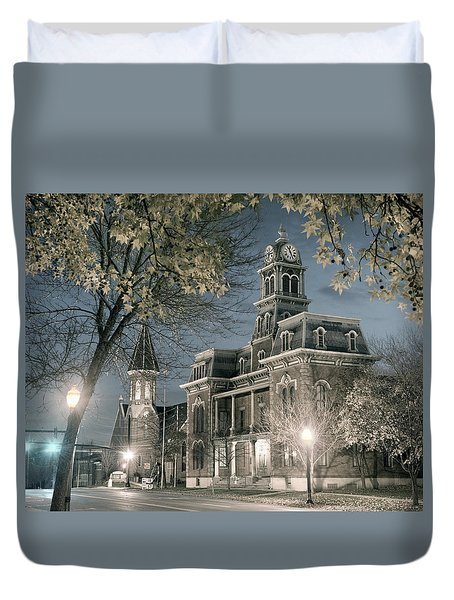 Night Court Duvet Cover