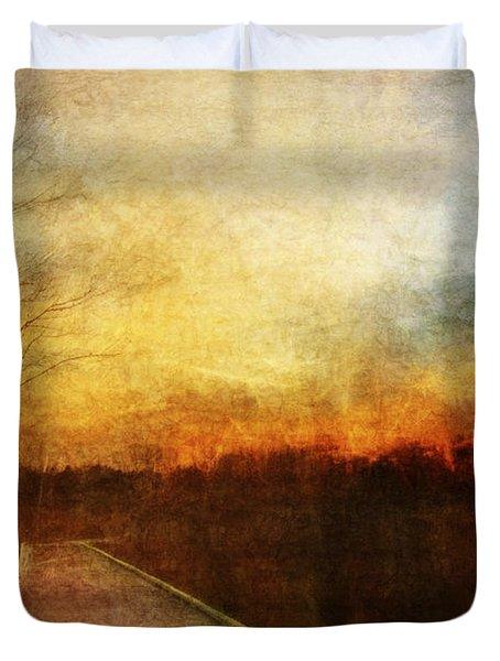 Night Falls Duvet Cover