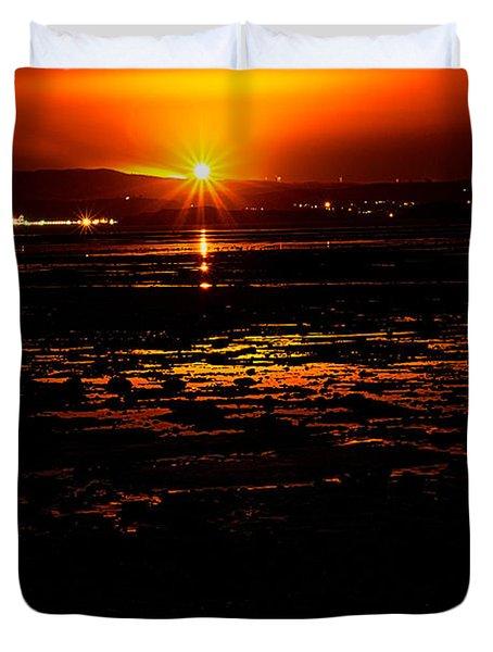 Night Flare. Duvet Cover