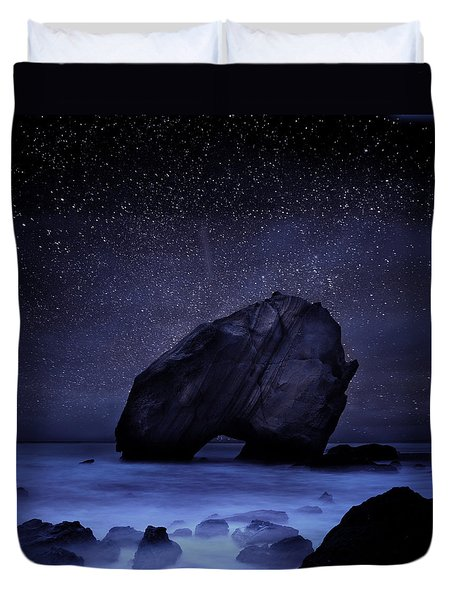Night Guardian Duvet Cover