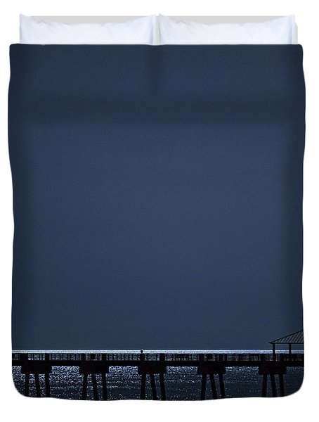 Night Influence Duvet Cover by Laura Fasulo