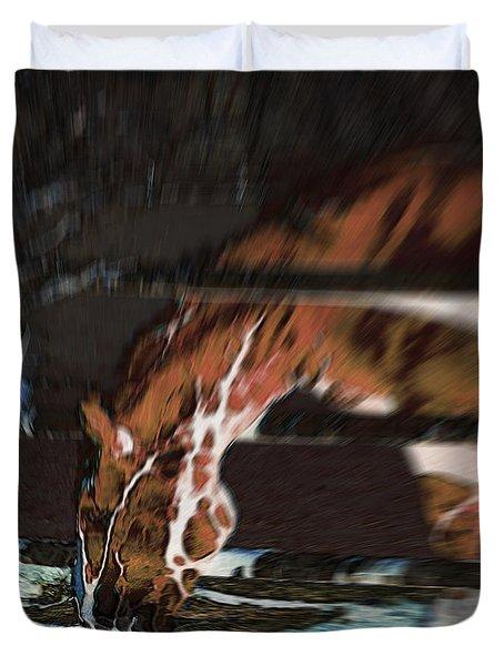 Night-mare Duvet Cover by Stuart Turnbull