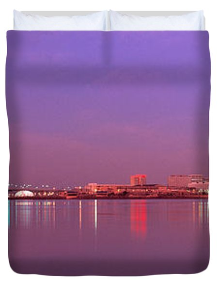 Night Memphis Tn Duvet Cover