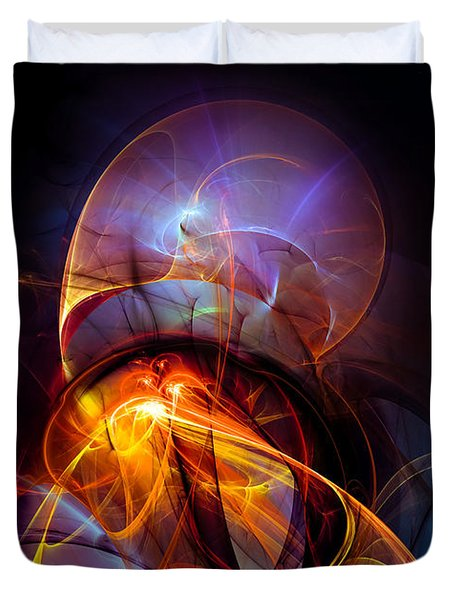 Night Ride Duvet Cover
