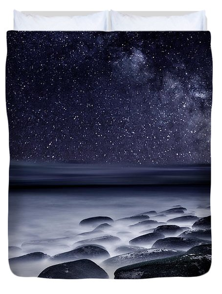 Night Shadows Duvet Cover by Jorge Maia