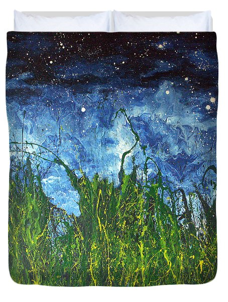 Night Sky 2007 Duvet Cover