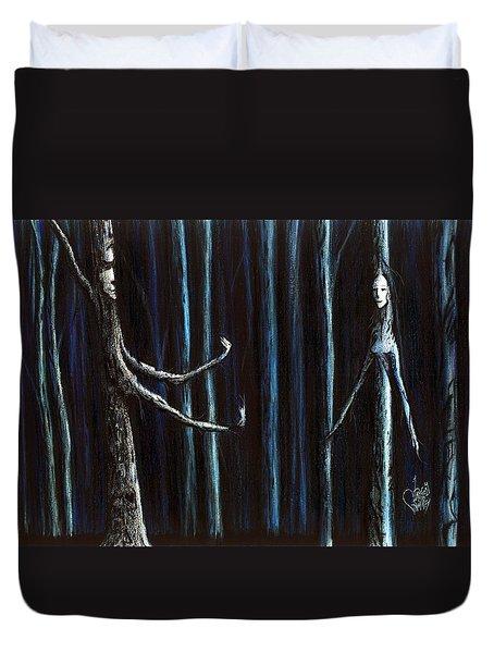 Nightfall Secret Duvet Cover