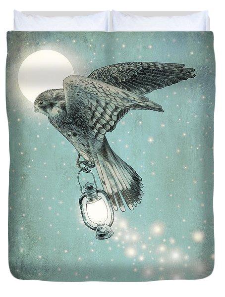 Nighthawk Duvet Cover