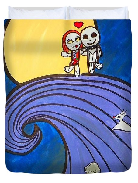 Nightmare Before Christmas Hill Cute Duvet Cover