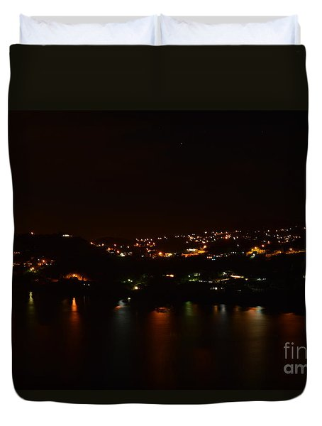 Nightscape Duvet Cover