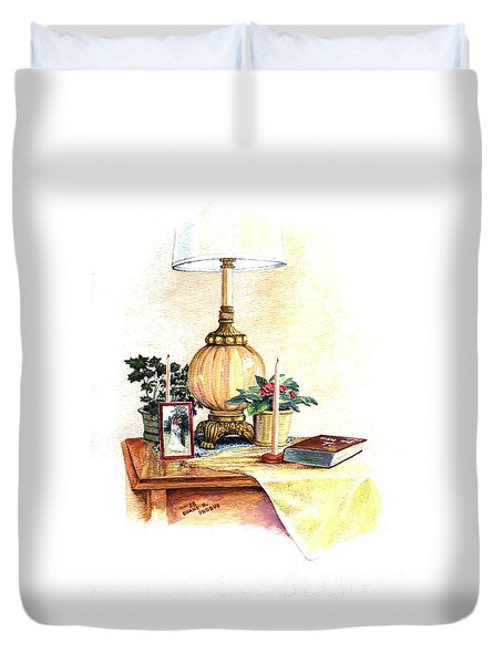 Nightstand Duvet Cover