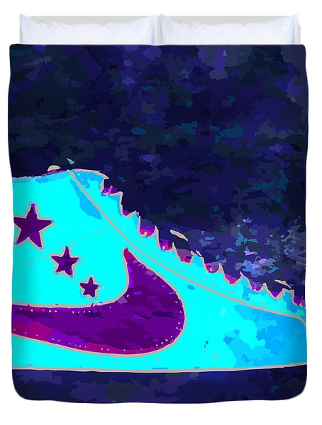 Nike Blazer Duvet Cover by Alfie Borg
