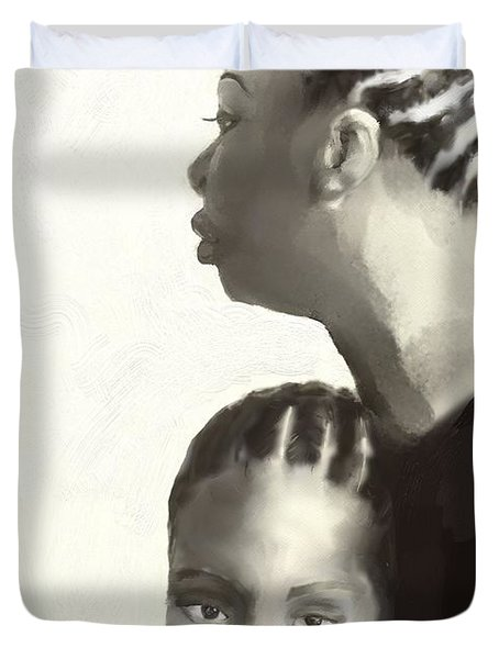Nina And Lisa Simone Duvet Cover