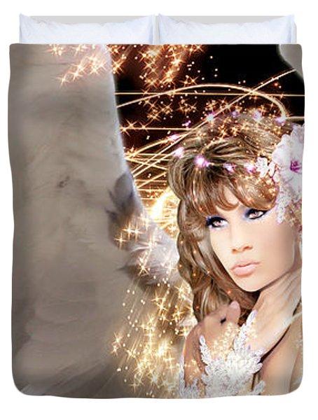 Nissrine An Angels Radiance Duvet Cover