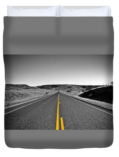 No Country For Old Men II Duvet Cover