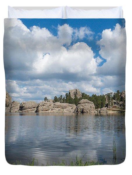 Sylvan Lake South Dakota Duvet Cover