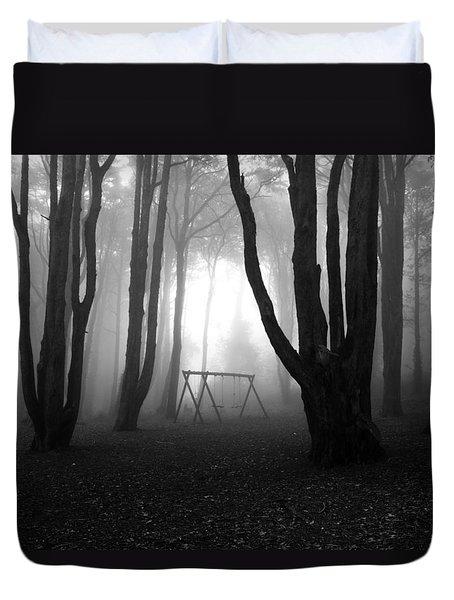 No Man's Land Duvet Cover by Jorge Maia