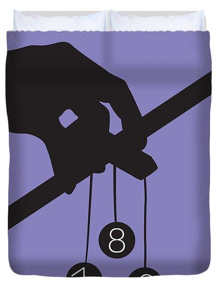 No009 My Being John Malkovich Minimal Movie Poster Duvet Cover by Chungkong Art